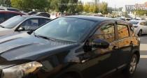 ветровики на окна Nissan Qashqai 1