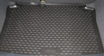 Коврик в багажник Сеат Ибица 4 (автомобильный коврик багажника Seat Ibiza 4)