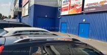 Рейлинги для Ford Fusion Crown алюминий