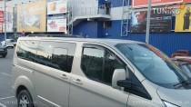 Рейлинги на Ford Transit Custom концевик пластик (рейлинги Форд Транзит Кастом)