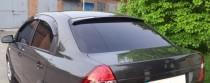 Козырек на заднее стекло Chevrolet Aveo (ветровик заднего стекла Шевроле Авео Т250)