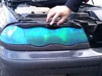 Реснички на фары Бмв Е46 (накладки на фары BMW E46 верхние)