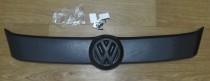 Зимняя решетка радиатора Volkswagen Caddy 3 матовая (решетка Фольксваген Кадди 3)