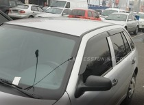 Ветровики Фольксваген Поинтер (дефлекторы окон Volkswagen Pointer)