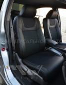 кожанные Чехлы BMW X1 E84 (авточехлы на сидения БМВ Х1 Е84)