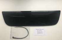 Зимняя заглушка решетки бампера Фиат Добло 1 глянец (заглушка бампера Fiat Doblo 1)