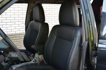 Чехлы Митсубиси Паджеро Спорт 1 (авточехлы на сиденья Mitsubishi Pajero Sport 1)