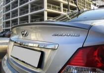 Спойлер на багажник Hyundai Accent (Solaris)