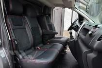Чехлы Рено Трафик 3 (авточехлы на сидения Renault Trafic 3)