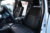 Чехлы Тойота Хайлюкс 8 (авточехлы на сидения Toyota Hilux 8)