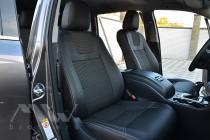 Чехлы Тойота Хайлендер 3 (авточехлы на сидения Toyota Highlander 3)
