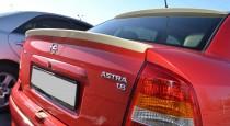Спойлер Опель Астра G (задний спойлер на багажник Opel Astra G Classic)