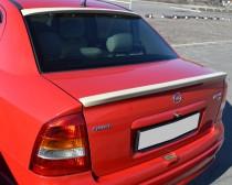 Тюнинг спойлер Opel Astra G (сабля на багажник Опель Астра G)