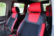Чехлы в салон Фольксваген Кадди 3 (чехлы для Volkswagen Caddy 3)