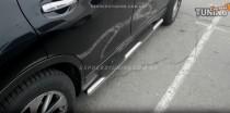пороги трубы для Nissan X-Trail T32