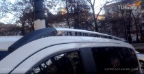 Рейлинги Mercedes Vito W447 (рейлинги на крышу Мерседес Вито 447 концевик. метал.)