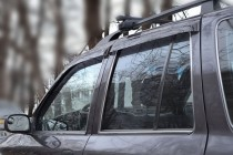 Ветровики Киа Спортейдж 1 (дефлекторы окон Kia Sportage 1)