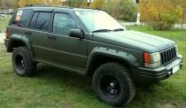 Ветровики Джип Гранд Чероки 1 (дефлекторы окон Jeep Grand Cherokee 1 ZJ)