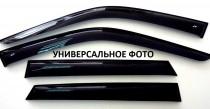 Ветровики Киа Пиканто 2 3Д (дефлекторы окон Kia Picanto 2 3D)