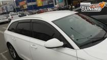Ветровики Ауди А6 С7 универсал (дефлекторы окон Audi A6 C7 Avant)