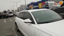 Оригинальные дефлекторы на окна Ауди А6 С7 Киев