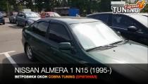 Ветровики Ниссан Альмера Н15 (дефлекторы окон Nissan Almera N15)