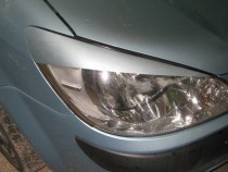 Реснички на фары Хендай Гетц (накладки фар Hyundai Getz рестайл)