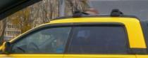 Ветровики Субару Баха (дефлекторы окон Subaru Baja)