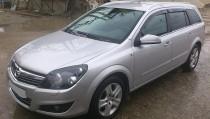 Ветровики на Опель Астра H универсал (дефлекторы окон для Opel Astra H Wagon)
