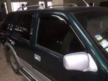 Ветровики Опель Фронтера А (дефлекторы окон Opel Frontera A)