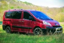 Ветровики Пежо Эксперт 2 (дефлекторы окон Peugeot Expert 2)
