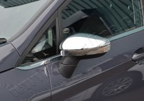хром на боковые зеркала Ford Fiesta 6 оригинал
