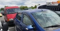 Ветровики Рено Логан 2 (дефлекторы окон Renault Logan 2)