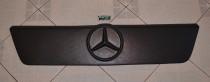 Зимняя накладка на решетку Мерседес Спринтер W901 TDI матовая (накладка решетки радиатора Mercedes Sprinter W901 TDI)