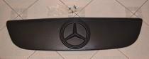 Зимняя накладка на решетку Мерседес Спринтер W906 матовая (накладка решетки радиатора Mercedes Sprinter W906)