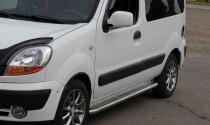 Can Otomotiv Пороги труба с листом Renault Kangoо 1