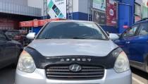Мухобойка капота Хендай Акцент 3 (дефлектор на капот Hyundai Accent 3)