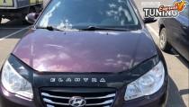 мухобойка на капот Hyundai Elantra 4 HD