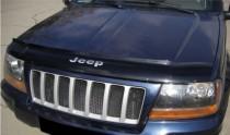 Дефлектор капота Джип Гранд Чероки WJ (мухобойка на капот Jeep Grand Cherokee WJ)