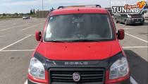 Дефлектор капота Фиат Добло 1 (мухобойка на капот Fiat Doblo 1)
