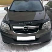 Дефлектор капота Опель Антара (мухобойка на капот Opel Antara)