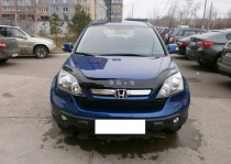 Дефлектор капота Хонда СРВ 3 (мухобойка на капот Honda CR-V 3 RE)