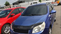 мухобойка на капот Chevrolet Aveo T255