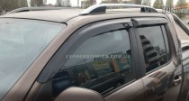 Дефлекторы окон Фольксваген Амарок (ветровики на Volkswagen Amarok)