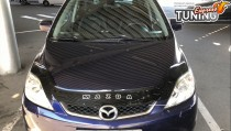 Дефлектор капота Мазда 5 (мухобойка на капот Mazda 5 CR)
