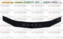 Спойлер на капот Мазда 626 рестайл (дефлектор капота Mazda 626 GF)