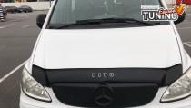 Мухобойка капота Мерседес Вито 639 (дефлектор на капот Mercedes Vito W639)