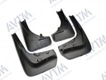 Модельные брызговики для Бмв Х6 Е71 для авто с наружными порогами