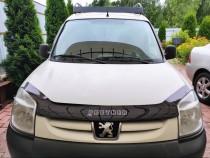 Мухобойка на капот Peugeot Partner ресталинг