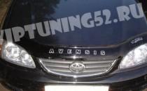 Дефлектор капота Тойота Авенсис 1 Т22